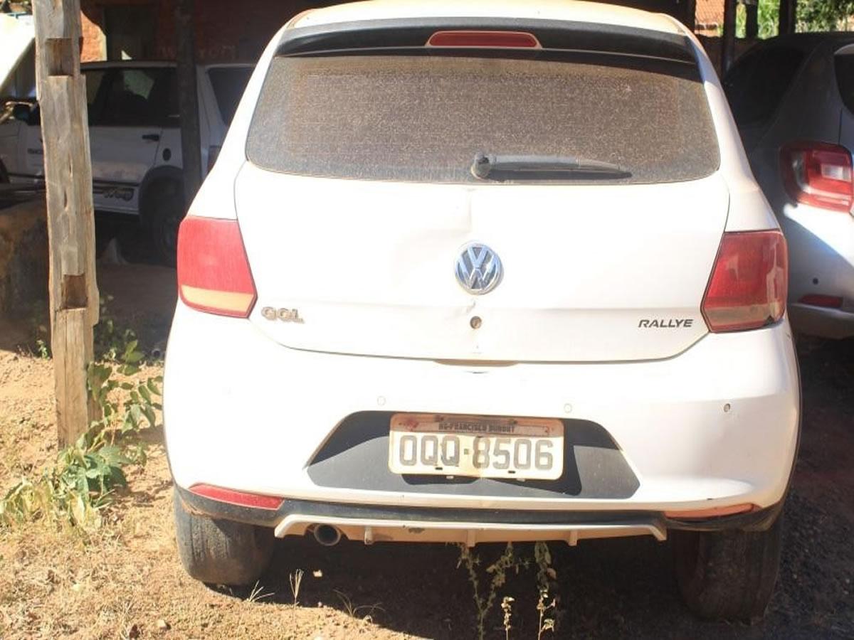 ITEM Nº: 05; Veículo; VW/Gol 1.6 Rallye, ANO: 2013/2014, PLACA: 8506, CHASSI: 029, COR: b...