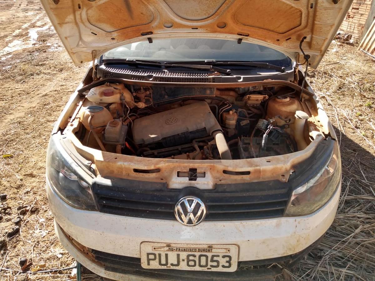 ITEM Nº: 11; Veículo; VW Gol TL MB, ANO: 2014/2015, PLACA: 6053, CHASSI: 732, COR: branca...