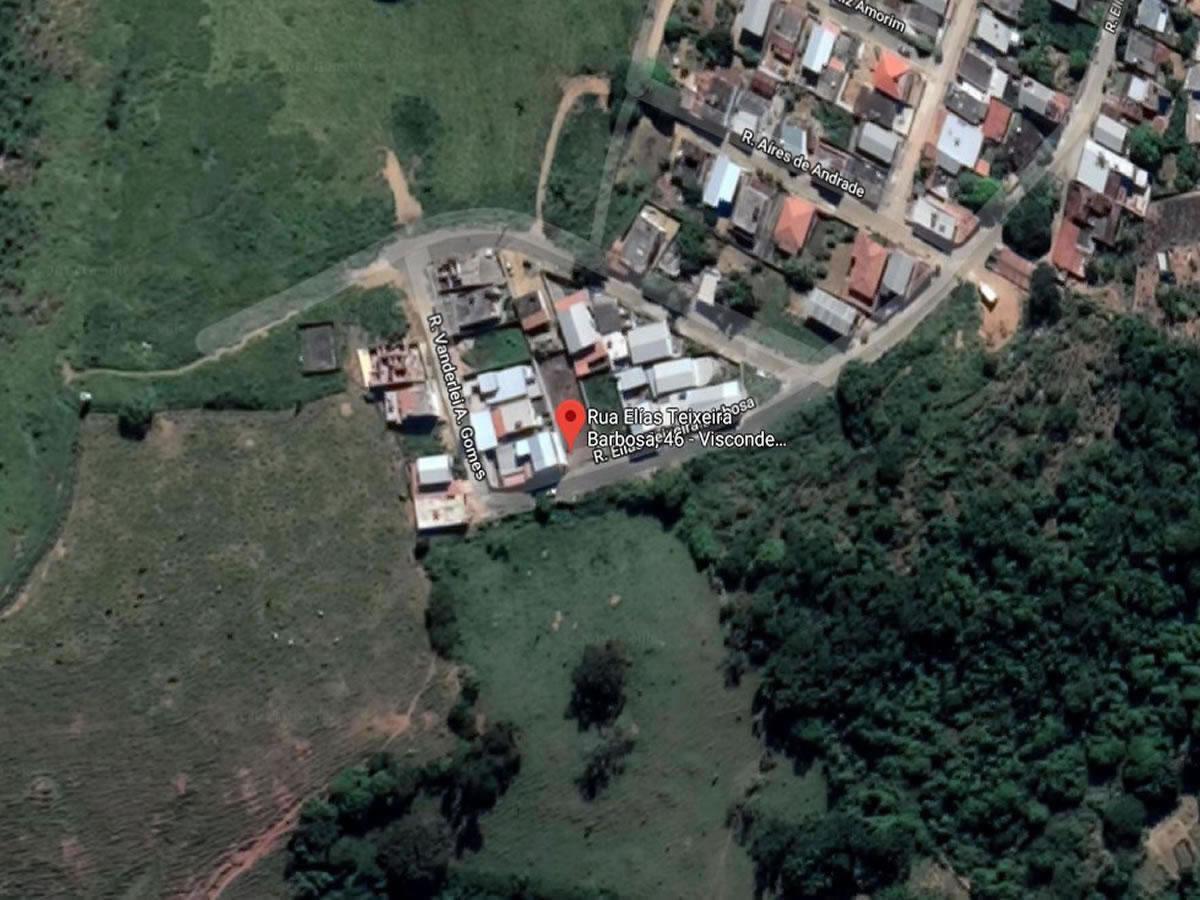Visconde do Rio Branco - Casa com 2 pavimentos,  Rua Elias Teixeira Barbosa, s/nº ao lado ...
