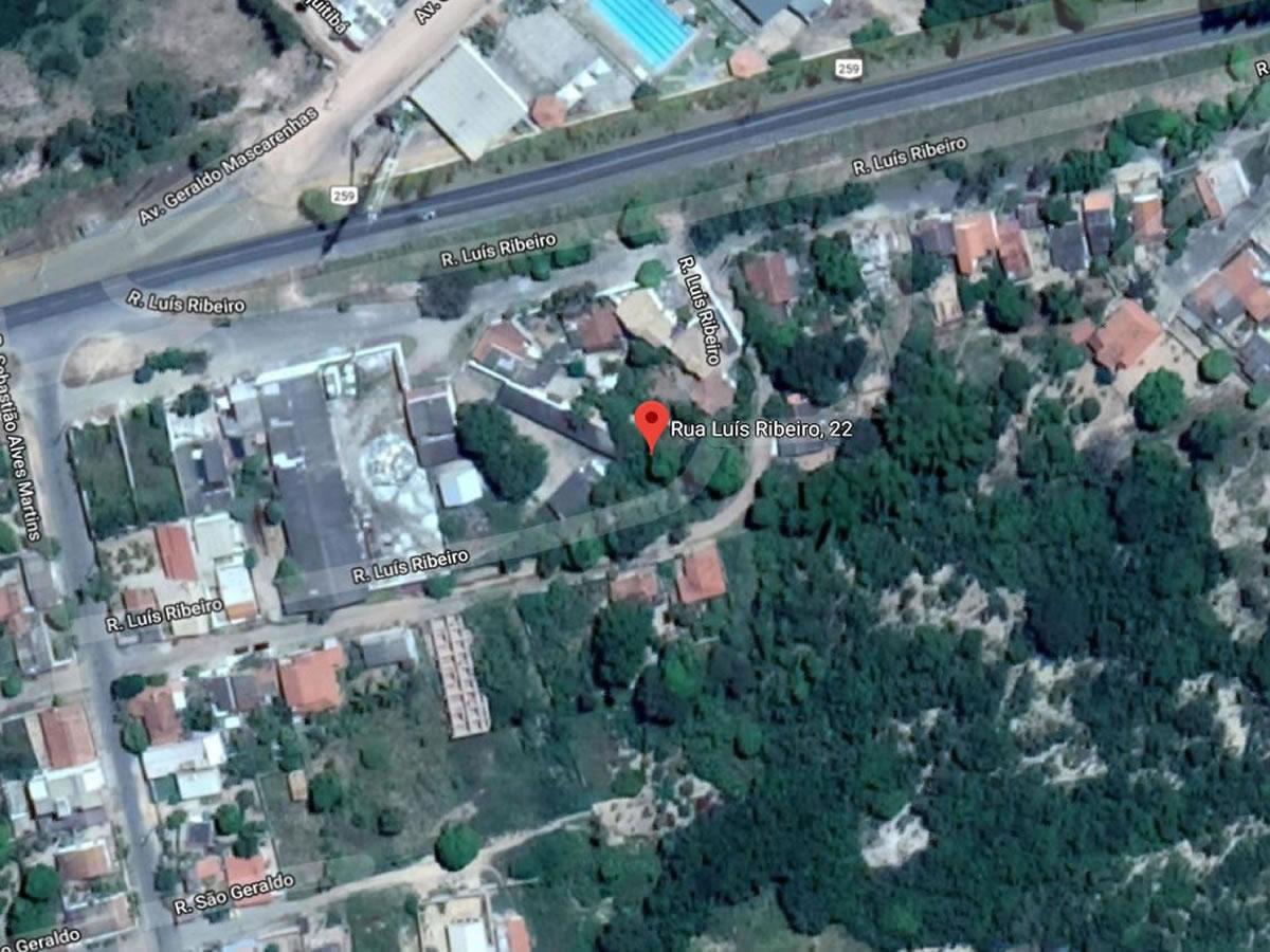 Inimutaba - Galpão em terreno de 2.520,00m²,  Rua Luiz Ribeiro, 22, Bairro São Judas Tadeu