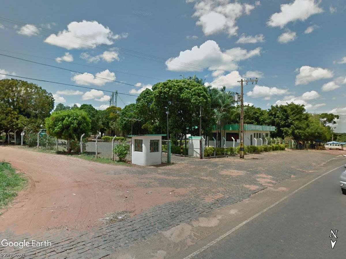 Monte Alegre de Minas - Armazém com 2.640,00m²,  BR 365, KM 691, Trevo de entrada, Monte A...