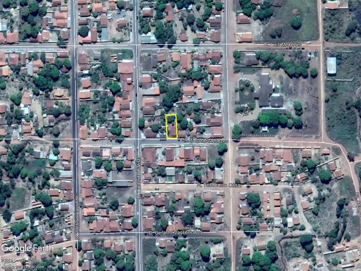 Brasilândia de Minas - Lote com 320,00m²,  Rua Guilhermino Perera da Silva, lote 09, quadr...