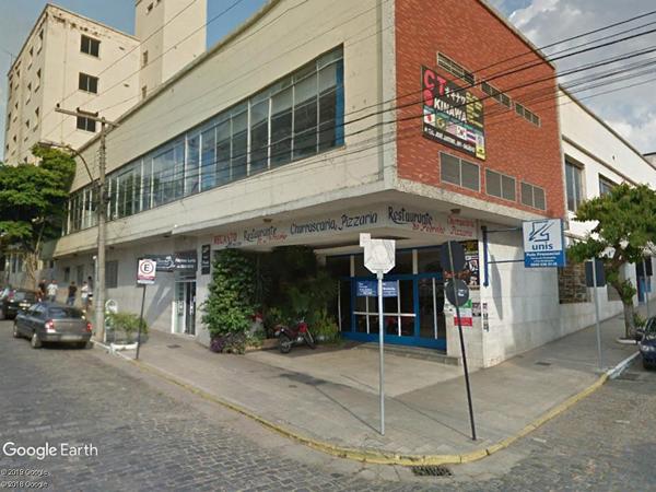 São Lourenço - 1% de Prédio com Lojas Comerciais, Rua Cel. José Justino, 681, Centro, São