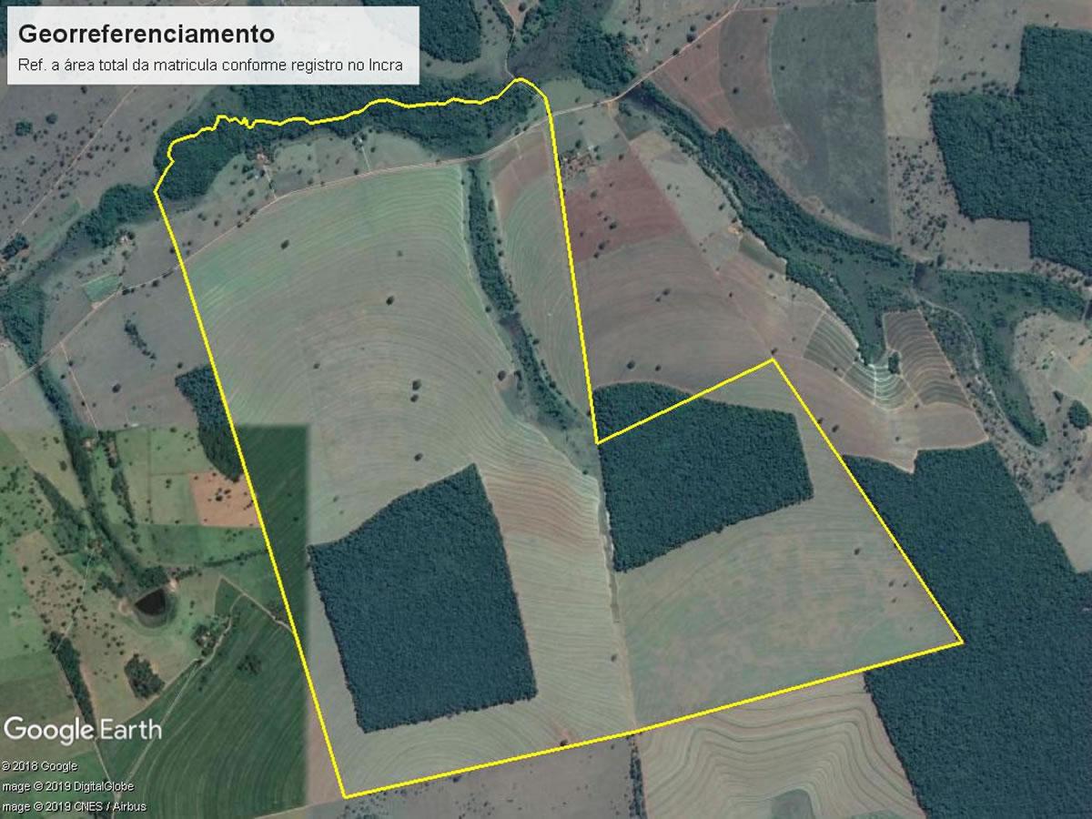 Monte Alegre de Minas - Terreno rural com 24,20,00Hás,  Fazenda do Pântano (Acesso pela es...