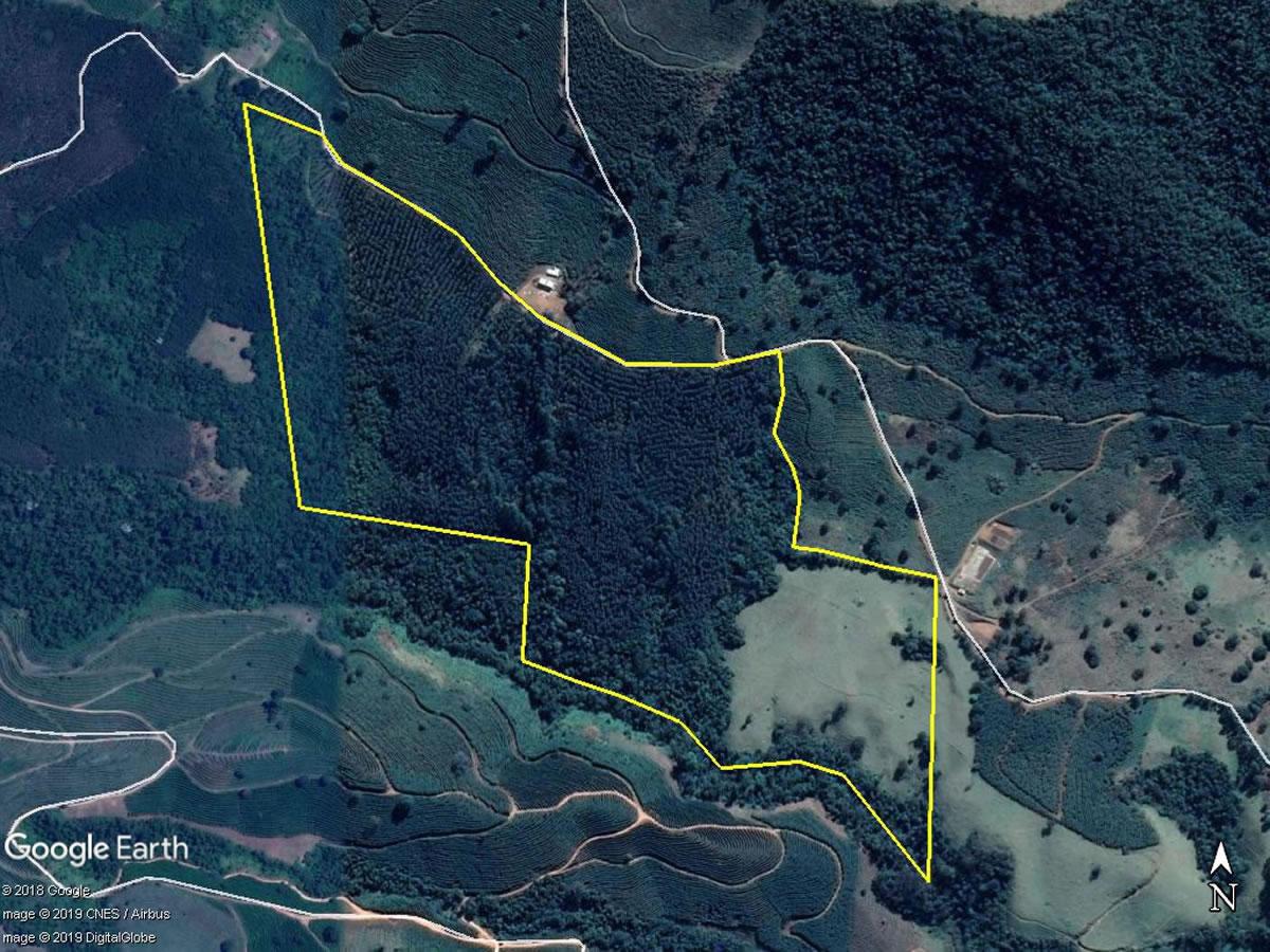 Carmo de Minas - Terreno rural com 28,95,48Hás, Local denominado Sítio Muchoco, gleba 02,