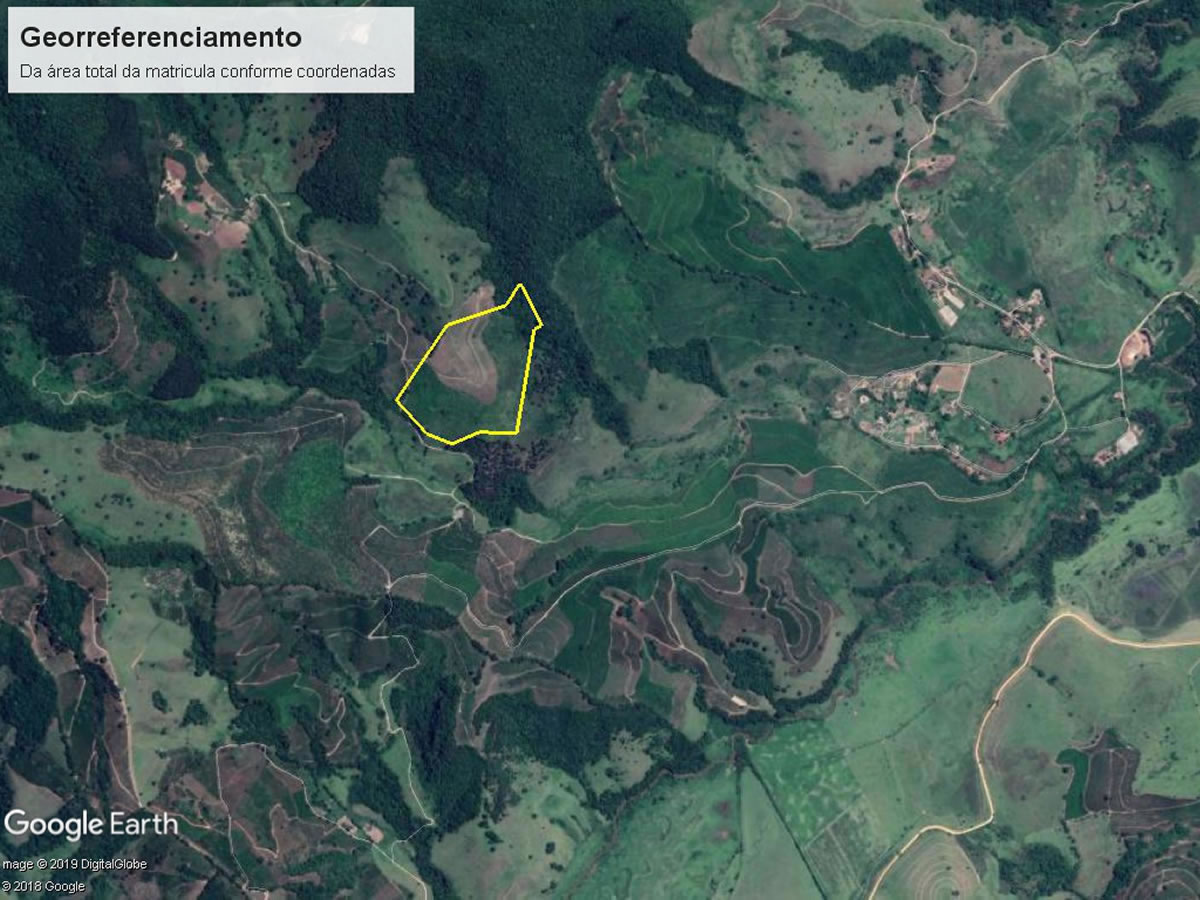 Olímpio Noronha - Terreno rural 09,92,00 Ha com Pés de Café, Fazenda Cachoeira, s/n, zona