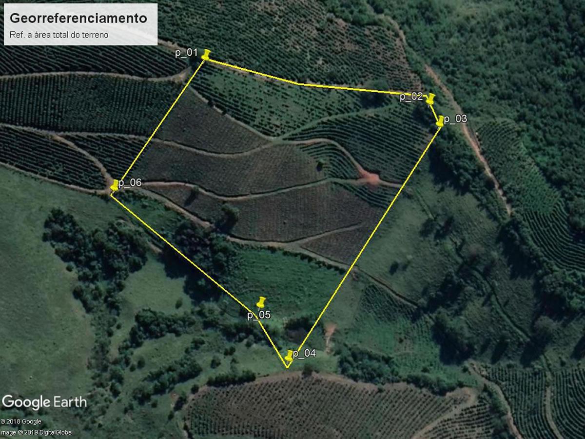 Lambari - Terreno rural 10.000,00m²,  Lugar denominado São Simão, s/nº, Zona Rural, Lambar...
