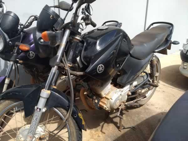 São Sebastião do Paraíso - Motocicleta Factor YBR 125 K Yamaha, ANO: 2012/2013,  COR: Pret