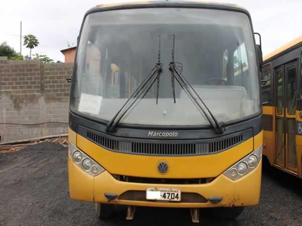 ITEM Nº: 04; Pas/Ônibus VW/15.190; , ANO: 2010/2011, PLACA: 4704, CHASSI: 727, COR: AMARE...