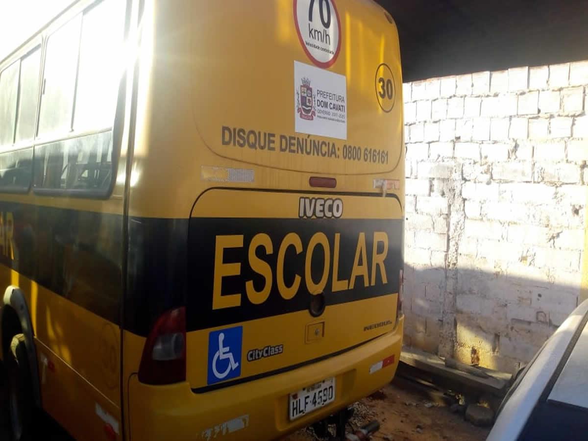 ITEM Nº: 02; Ônibus; Iveco Cityclass 70C16, ANO: 2010/2011, PLACA: 4590, CHASSI: 305, COR