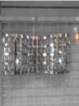 Itaúna - Arandela Bella De parede, capacidade para duas lâmpadas, 127/220 V. ==> IMPORTANT